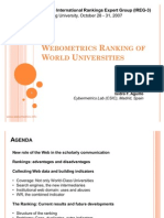Webometrics Ranking of World Universities