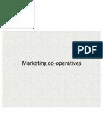 Marketing Co Operatives