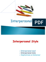 Interpersonal Styles