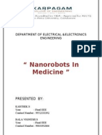 Nano Robots in Medical Field