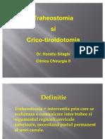 Traheostomia