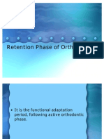 Retention Phase of Orthodontics