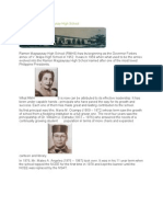 History of Ramon Magsaysay High School