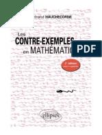 Les Contre-exemples en Mathematiques