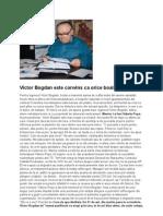 Victor Bogdan Este Convins CA Orice Boala Are Leac