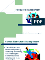 Basics of Human Resource Management