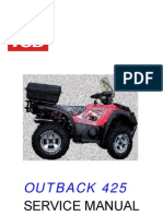 TGB Outback 425 - Service Manual
