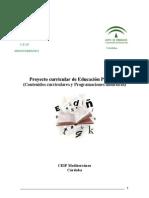 3.5.-Proyecto Curricular de E. Primaria