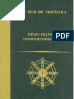 Three Texts on Consciousness Only Bdk English Tripitaka Translation Series