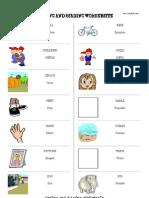 Unidad 2 vocabulario