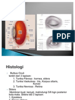 Mata Anatomi, Histo, Fisiologi