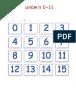 números de 0 a 15 2