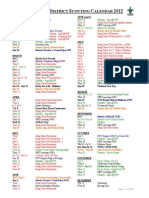2012 Sunraysia District Scouting Calendar V1