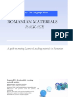 Romanian Materials for teaching