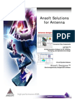 Ansoft Solutions Antenna