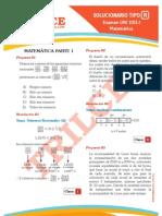Solucionario UNI 2012-I Matematica
