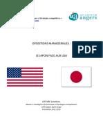 Oppositions managériales Le Japon face aux Etats-Unis - LEFEVRE Jonathan - M2 IESC - Université d'Angers