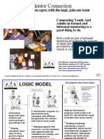 Expanding Network Of Adults Involved in Helping Inner City Youth - Logic Model
