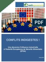 EFSA - Conflits Indigestes