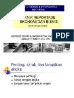 IBII Kuliah Teknik Reportase-I