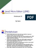 Java2 Micro Editon (J2ME)