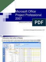 Suport Curs Microsoft Project 2007 PART II