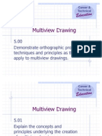 Unit E Multiview Drawing Power Point (1)