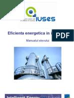 Eficiența Energetică în Industrie - proiectul IUSES