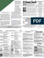 Feb 26 Bulletin