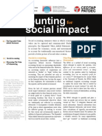 Accounting for Social Impact