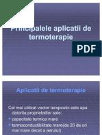 aplicatii de termoterapie