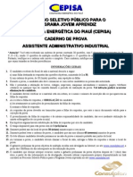 Assistente Administrativo Industrial
