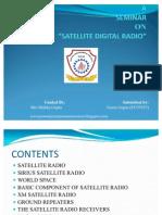 Ppt on Satellite Digital Radio