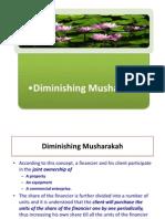 Lecture 5 - Dminishing Musharak