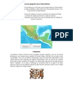 Ubicacion Geografica de La Cultura Mixteca