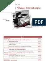 Echec des alliances stratégiques (1)
