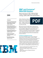 IBM Comverse Solution Brief Including Cloud