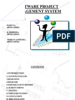 Software Project Management System