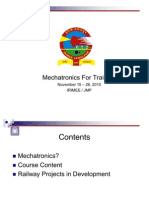 Mechatronics - Basics and Applications in Railways