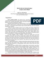 Penyatuan Nusantara - Fakta dan Fiksi