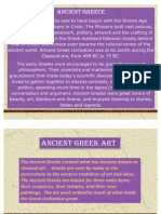 4 Greeks History