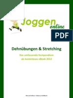 Dehnuebungen 2012 eBook Joggen Online