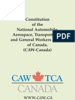 CAW Constitution ENG 2009