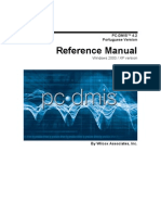 Pcdmis v42 Core Portuguese Manual