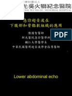 1010224_成大急診超音波教學_Low abdominal pain & Soft tissue