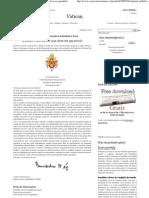 (L'Osservatore Romano, A saúde é um direito que deve ser garantido)