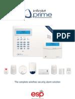 Esp Infinite Prime Wireless Intruder Alarm Catalogue