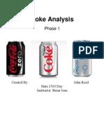 Coke Cover Page