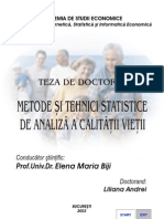 Metode Si Tehnici Stat