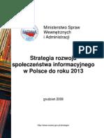 Strategia Rozwoju Spoleczenstwa Informacyjnego w Polsce (1)